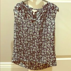 Rebecca Taylor beautiful  floral top size 2